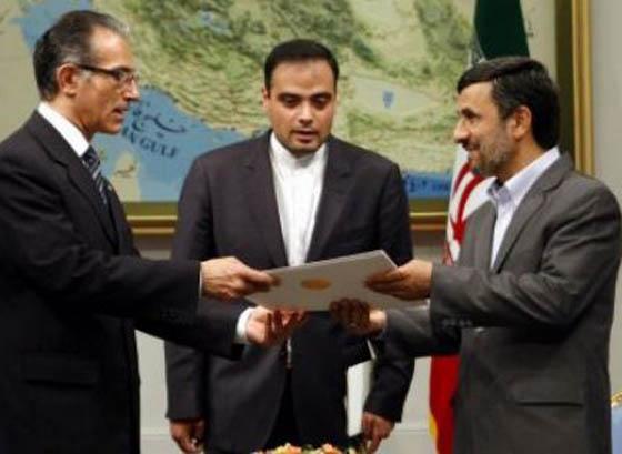 Ahmadinejad receives new Uruguayan Ambassador