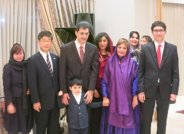 Pariyoush Ganji receives Japan's Order of the Rising Sun