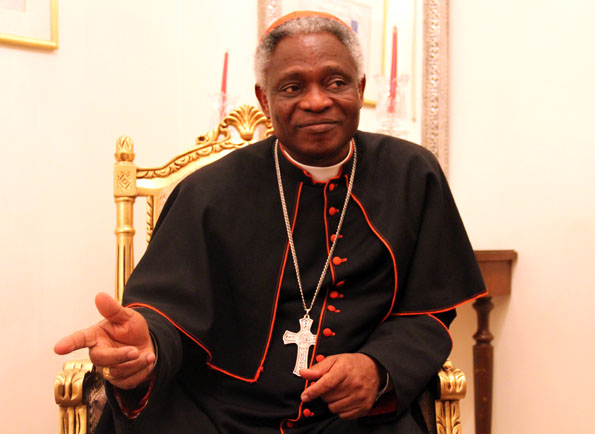 """Persia Mentioned in Christian Bible and Also of Interest to Christians,"" States Cardinal Turkson"