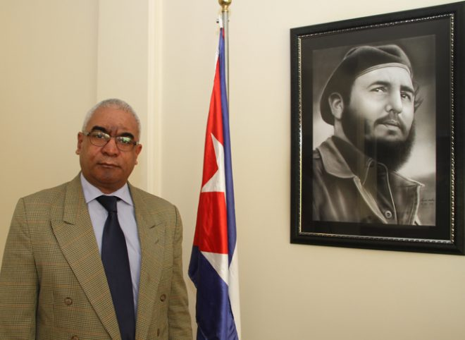 """We Are All Fidel,"" Says Cuba's Ambassador to Iran"
