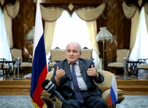 Russian envoy urges Europe to back Iran nuclear deal loudly