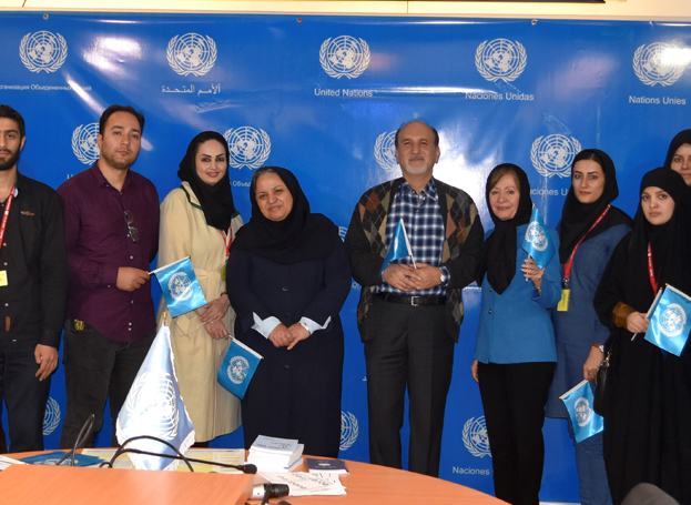 On the occasion of the UN Day, University of Tehran students learned more about the UN Website