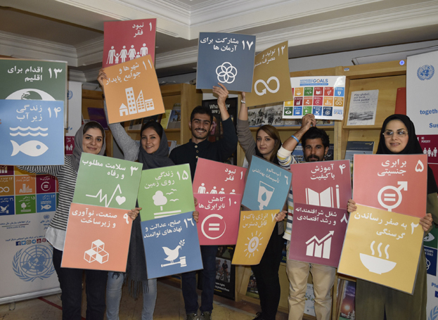 UNIC Tehran Marks International Volunteer Day with its Interns
