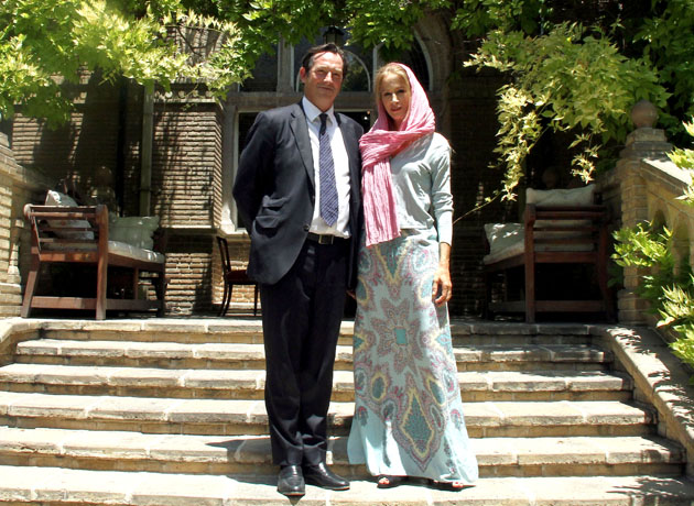 """I Enjoy Living in South Tehran,"" Says British Ambassador's Wife."