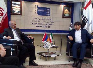 IRNA chief stresses role of media in promoting Tehran-Yerevan ties
