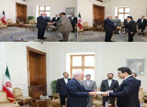 Iran FM receives new envoy of Lebanon