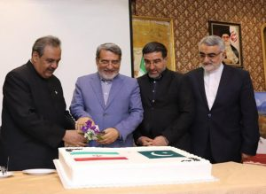 Dignitaries attend Pakistan National Day ceremony in Tehran