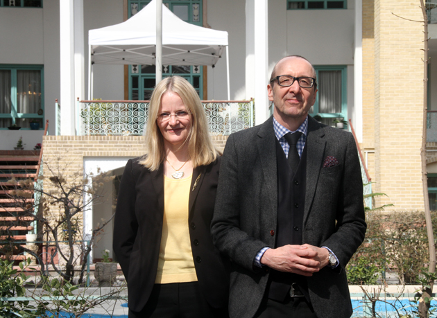 """""""I Enjoy Meeting Iranian Women Who Believe in Themselves,"""" States Spouse of Austrian Ambassador to Iran."""