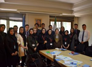 UNIC helps Islamic Azad University students to get familiar with the UN website