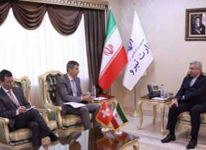 Iran hails Swiss investment: Energy Minister