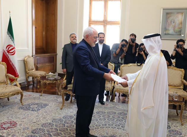 New ambassador of Qatar meets Zarif