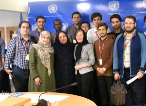 Students of International Relations learned more about the UN Website