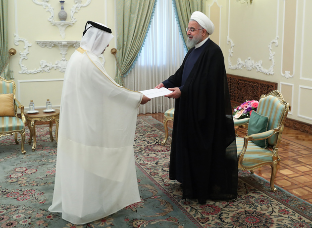 Tehran, Doha determined to further deepen ties