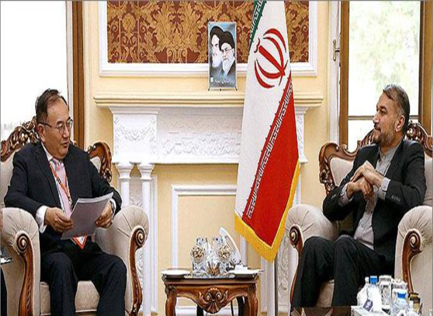 Japan envoy stresses import of oil from Iran