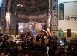 Ceremony to mark 1st anniversary of sunken ship's martyrs held