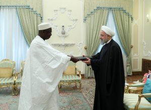 Iran eager to expand ties with African states: President Rouhani