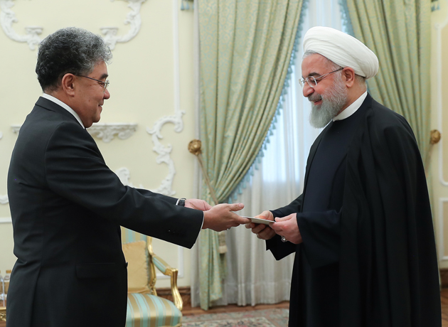 Tehran-Astana enjoying many economic capacities: Pres. Rouhani