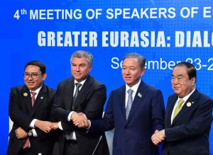 Greater Eurasia: Dialog, Trust and Cooperation