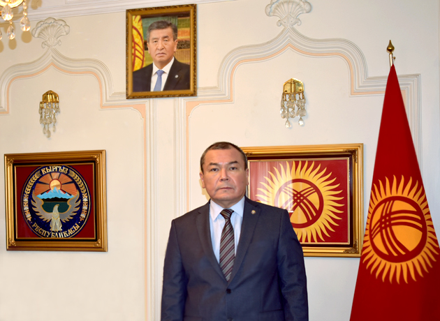 "Ambassador Avazbek I. Abdurazakov, ""Kyrgyzstan Will Be Back to Normal Soon""."