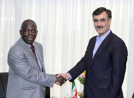 توافق رئیس هیئت عامل صندوق توسعه ملی با سفیر اوگاندا