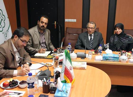 رئیس کتابخانه مجلس با سفیر تونس تفاهم نامه همکاری امضا کرد