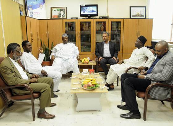 بازدید سفیر نیجریه در تهران از رادیو هوسای ایران
