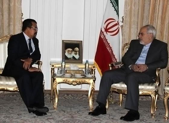 دیدار سفیر جدید برونئی با محمدجواد ظریف
