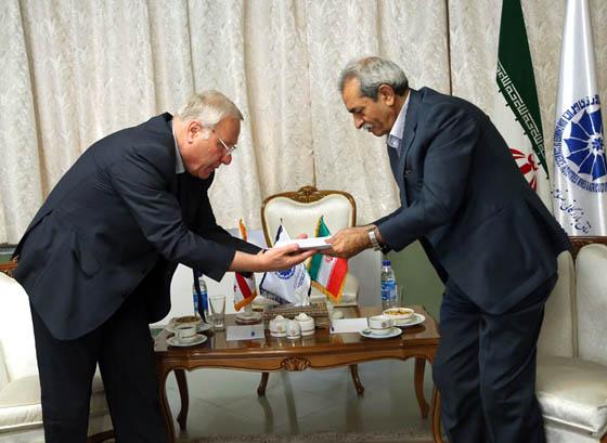 دیدار سفیر گرجستان با رئیس اتاق بازرگانی ایران