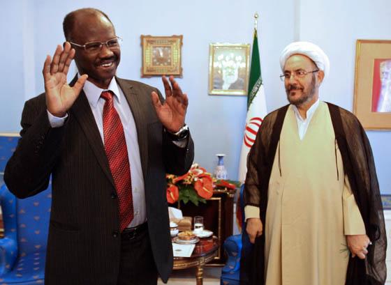 دیدار دستیار ویژه رئیسجمهور با سفیر سودان