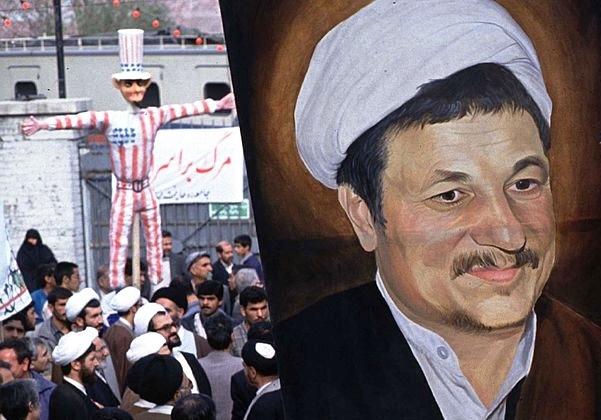 هاشمی رفسنجانی: بازگشایی سفارت آمریکا غیر ممکن نیست