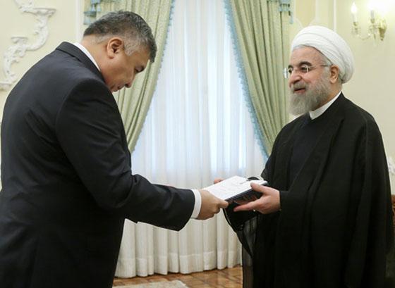 تقدیم استوارنامه سفیر جدید ازبکستان به رئیس جمهور