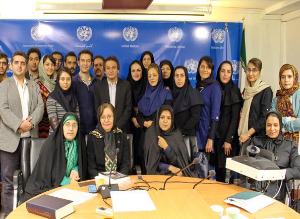 دوره آموزشی حقوق معاهدات با همکاری مرکز اطلاعات سازمان ملل متحد