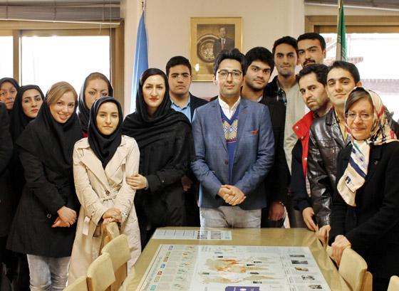 کارگاه آموزشی بازیابی اطلاعات و اسناد سازمان ملل متحد برای دانشجویان حقوق بشر
