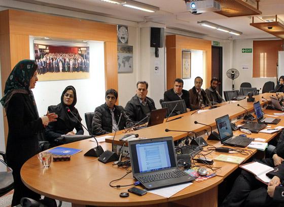 آشنایی اعضای انجمن ژئوپلیتیک ایران با سازمان ملل متحد