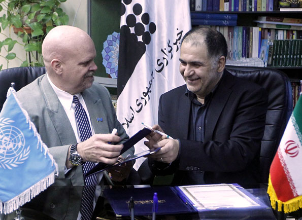 ایرنا و مرکز اطلاعات سازمان ملل متحد تفاهم نامه همکاری امضا کردند