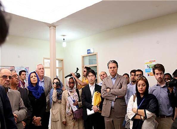 بازدید سفرای خارجی از مراکز ارائه خدمات بهداشتی درمانی به پناهجویان