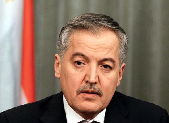 یادداشت سراج الدین اصل اف، وزیر امور خارجه جمهوری تاجیکستان