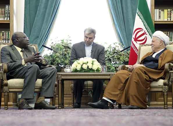هاشمیرفسنجانی خطاب به سفیر سنگال: برای تقویت روابط با سنگال محدودیتی نداریم
