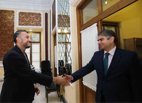 دیدار امیرعبدالهیان با سفیر لبنان در ایران