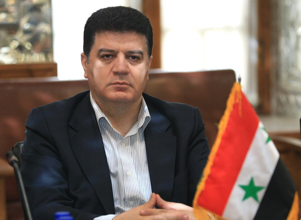 پیام تسلیت سفیر سوریه در تهران در پی شهادت محسن خزائی