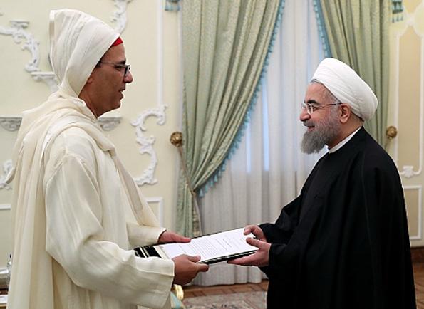 روحانی خطاب به سفیر مغرب: توسعه روابط ایران و مغرب به نفع منطقه است