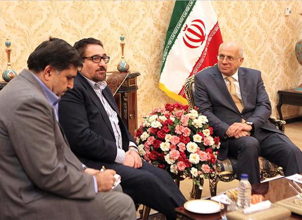 دیدار و رایزنی محمدرضا تابش با سفیر بوسنی وهرزگوین در تهران