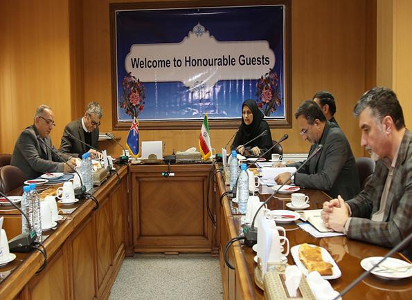 رایزنی سفیر نیوزیلند با رییس سازمان ملی استاندارد ایران