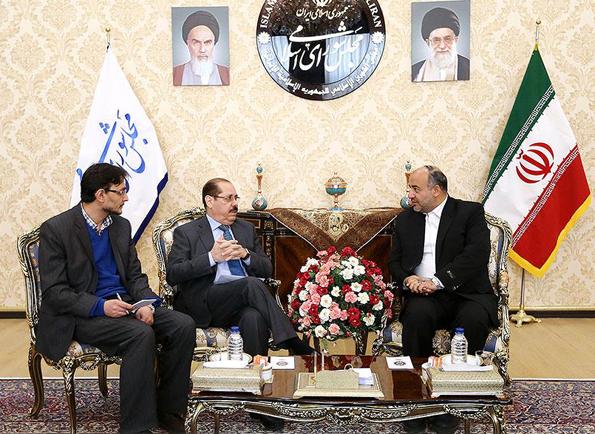 دیدار محمدرضا منصوری با سفیر نیکاراگوئه در ایران