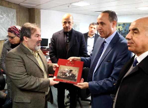 بازدید سفیر و وزیر فرهنگ الجزایر از موزه هنرهای معاصر تهران