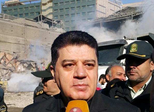 عدنان محمود با حضور در محوطه پلاسکو: سوریه در غم و شادی ایران شریک است