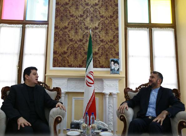 دیدار سفیر سوریه در ایران با امیرعبداللهیان