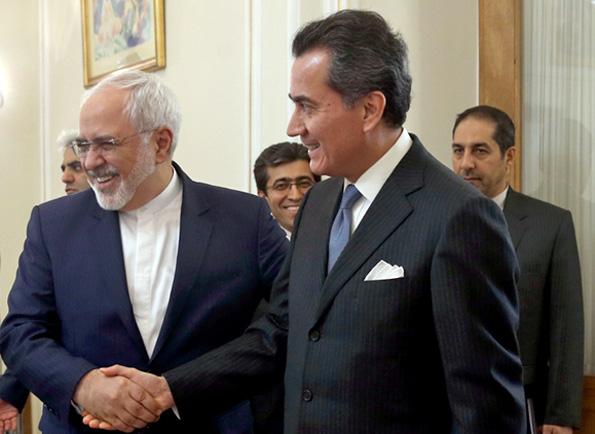 خداحافظی سفیر مکزیک با وزیر امور خارجه