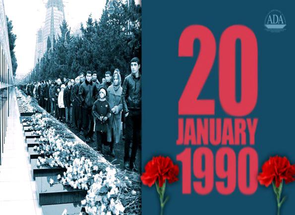 ۲۰ ژانویه روز مبارزه شرافتمندانه در حافظه خونین مردم آذربایجان است