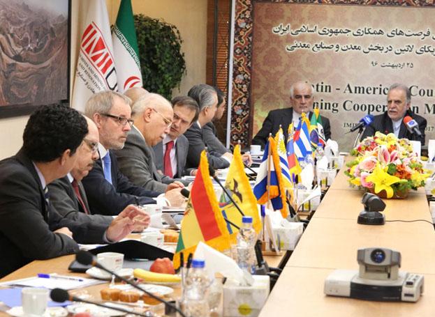 سفیران کوبا، مکزیک، نیکاراگوئه و برزیل راه های همکاری معدنی با ایران را تبیین کردند